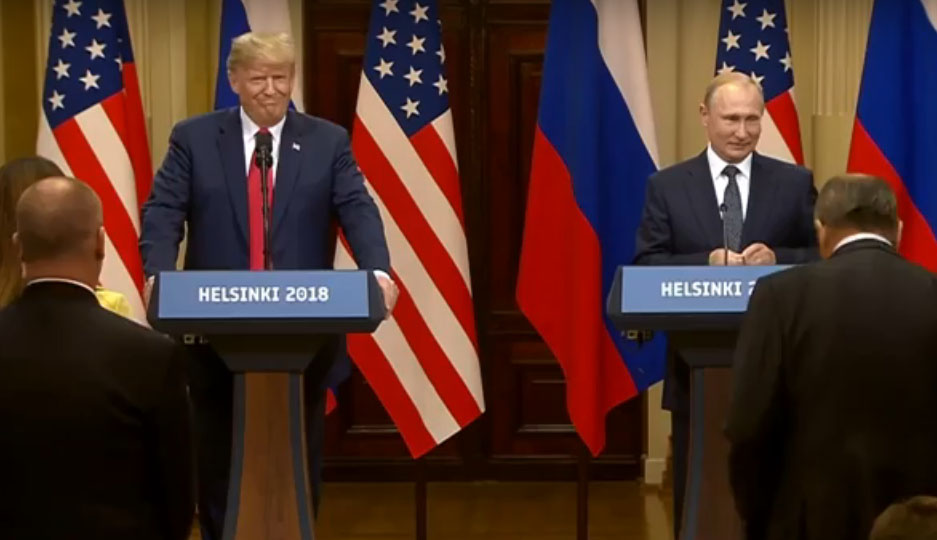 Путин и Трамп: итоги встречи в Хельсинки