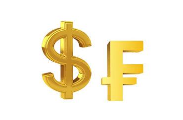 График Доллар Франк онлайн